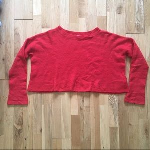 Urban Outfitters Cooperative Orange Crop Sweater